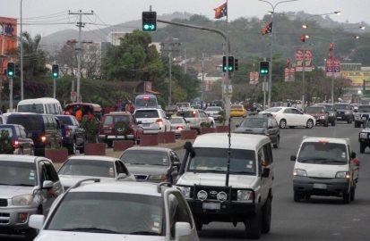 Waigani traffic rush hour